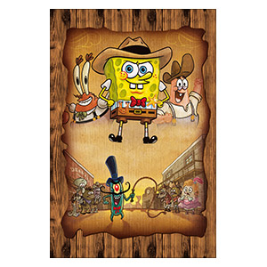 SpongeBob Squarepants. Размер: 20 х 30 см
